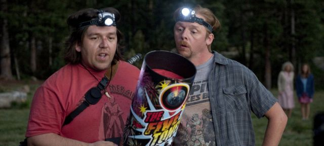 Nick Frost and Simon Pegg in sci-fi comedy Paul