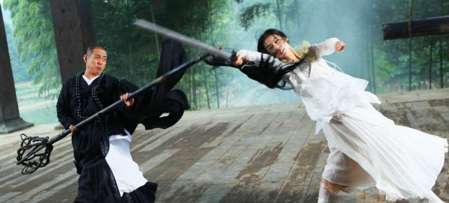Jet Li in fantasy martial arts movie