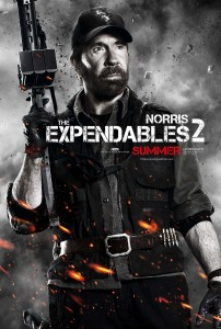 Chuck Norris, Expendables 2