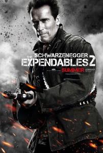 Arnold Schwarzenegger, Expendables 2