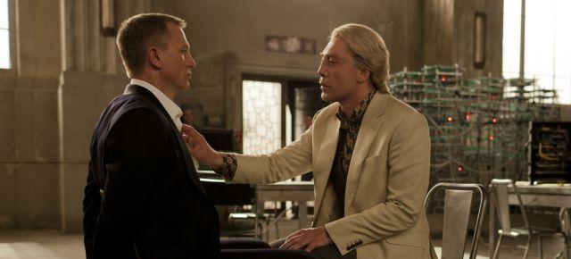 007 Skyfall, Daniel Craig, Javier Bardem