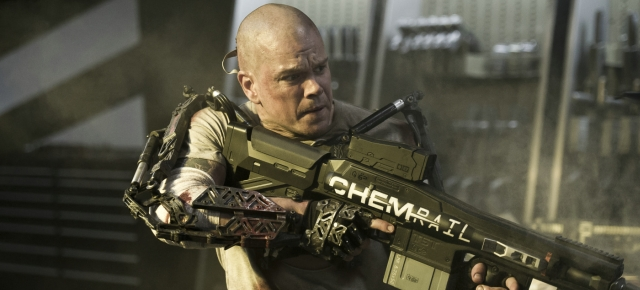 Elysium, Matt Damon, Neill Blomkamp