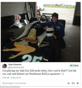 Nauja tragedija Nors Formulėje 1 nebebuvo mirtinų avarijų nuo Ayrtono Senna žūties 1994-aisiais, su filmu susijusi nauja tragiška netektis. Britų Porsche Supercup lenktynininkas Seanas Edwardsas, Lenktynės suvaidinęs savo tėvą, išgelbėjusį Niki Laudą iš ugnies, spalio viduryje žuvo treniruočių metu, padėdamas jaunam vairuotojui įveikti trasą.
